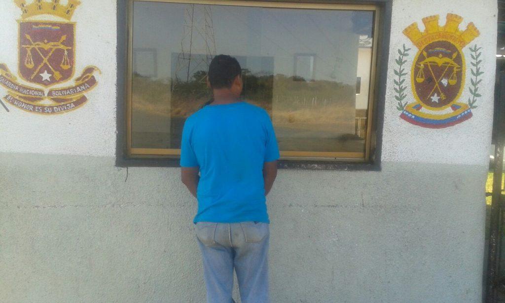Detenido por robo en La Pascua