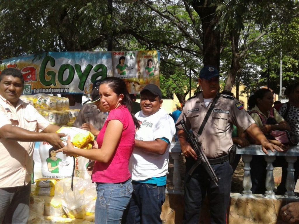 Jornada social y humanitaria en la población de Espino – Venezuela