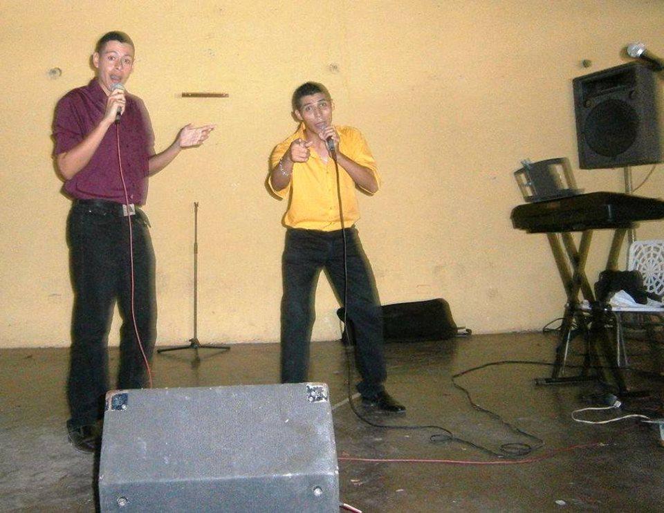 """Temas promocionales de """"El dúo del ritmo""""."""
