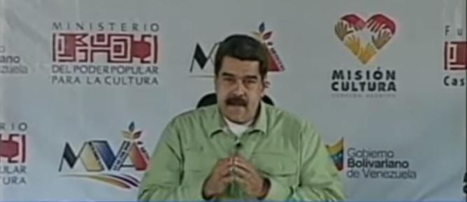 Presidente venezolano anuncia aumento de la cesta ticket