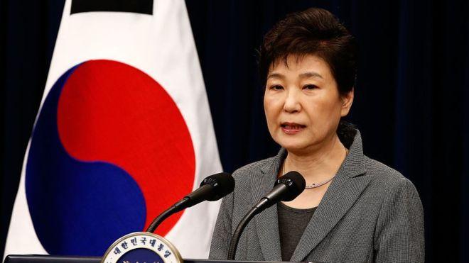 Destituída de su cargo presidenta surcoreana