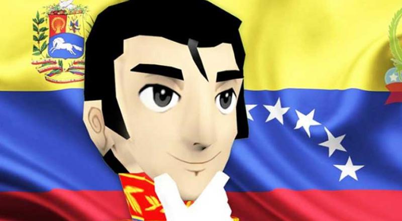 Venezolanos crean  aplicación  Simón Bolívar