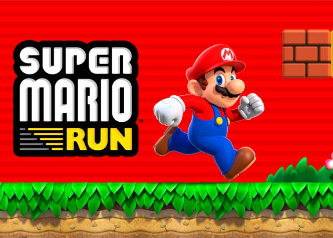 La aplicación Super Mario Run disponible para Android