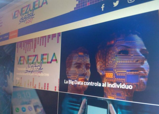 "Finaliza evento ""Venezuela Digital 2017"""