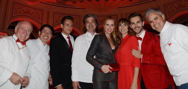 Cena solidaria en el Palau de Pedralbes contra el sida